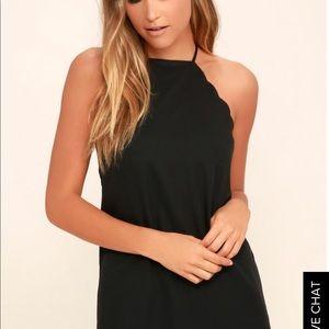 Endlessly Endearing Black Dress